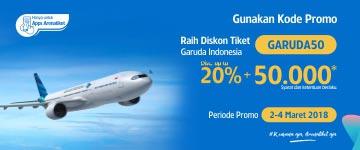Diskon Spesial Garuda Indonesia