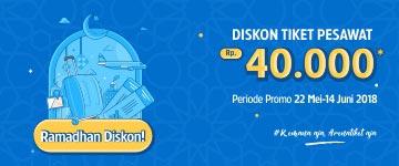 Ramadhan Discount Rp40ribu